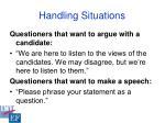 handling situations36