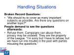 handling situations37