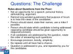 questions the challenge15