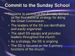 commit to the sunday school10