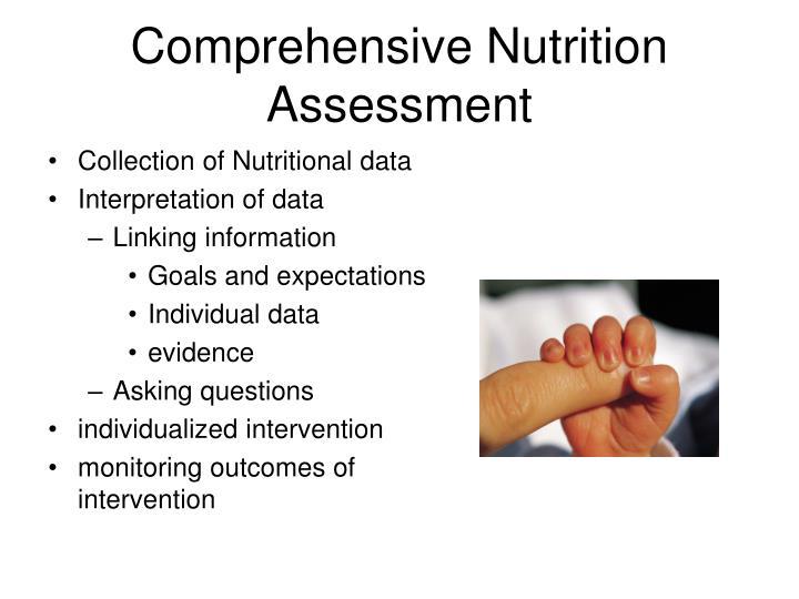 Comprehensive Nutrition Assessment