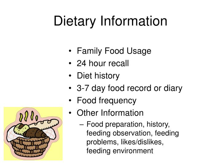 Dietary Information