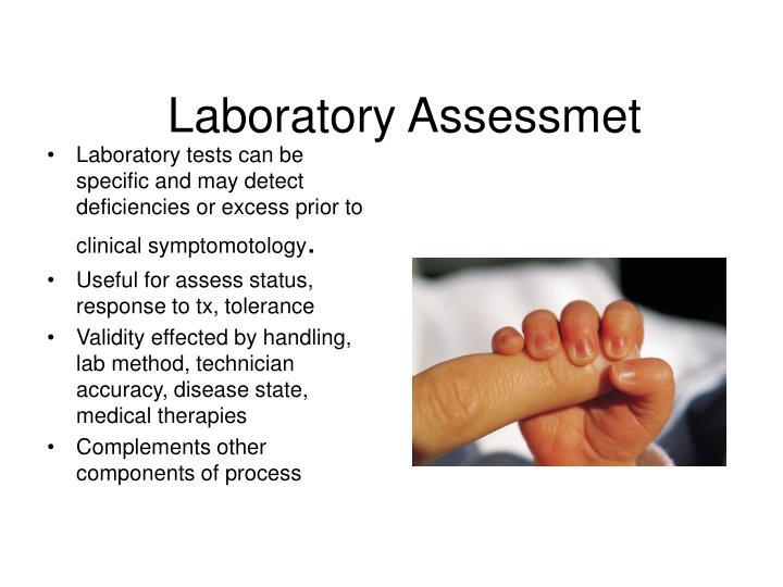 Laboratory Assessmet