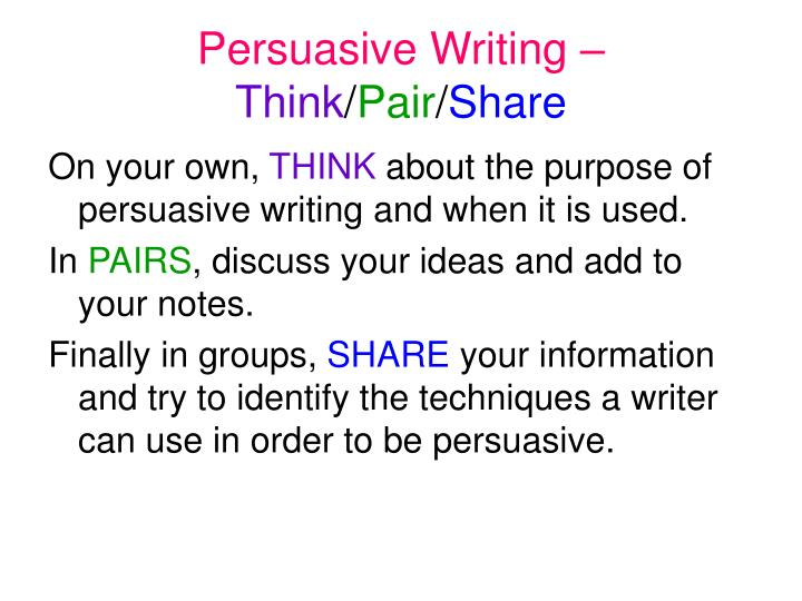 persuasive essay and respect