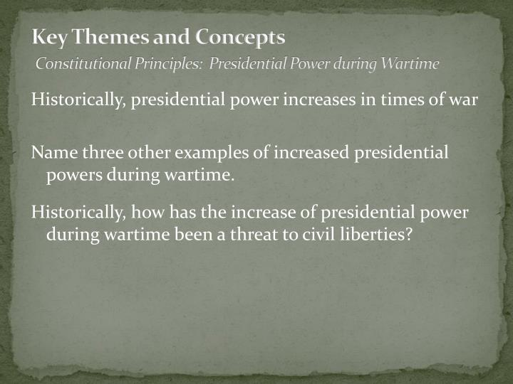 Key Themes and Concepts