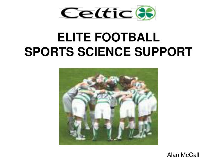 elite football sports science support n.