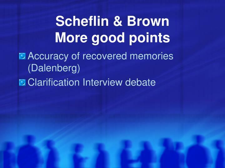 Scheflin & Brown