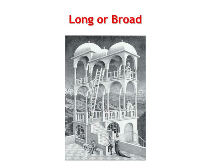 Long or Broad
