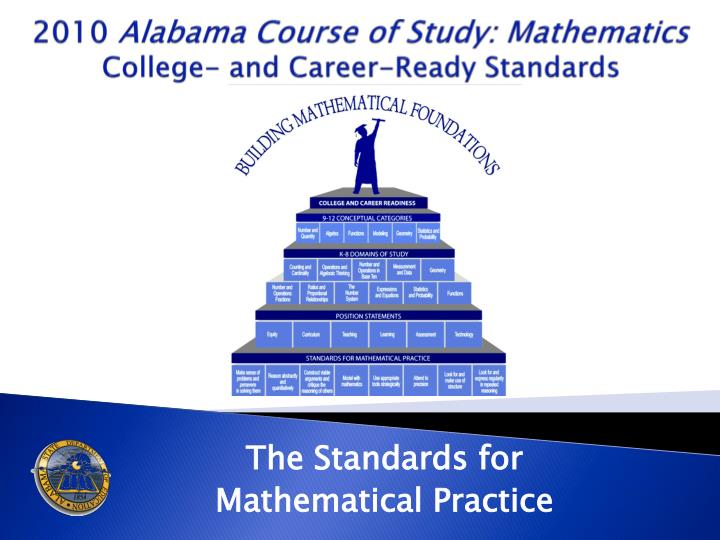 2010 alabama course of study mathematics college and career ready standards n.