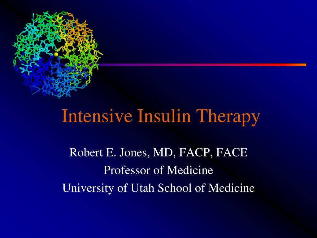 intensive insulin therapy l.