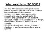 what exactly is iso 900020