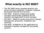 what exactly is iso 900021