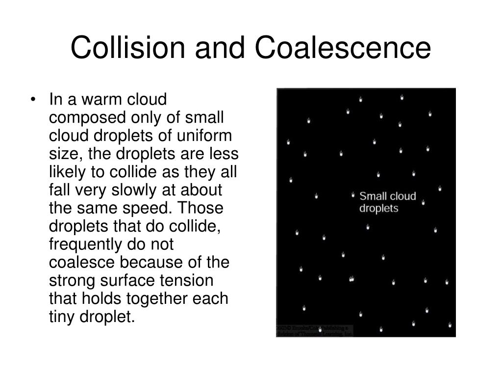 Collision and Coalescence