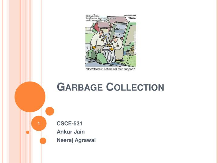 garbage collection n.