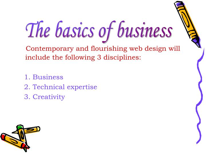 The basics of business