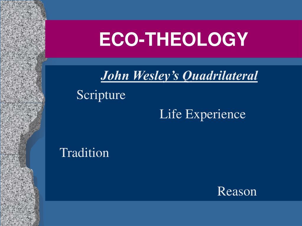 eco theology l.