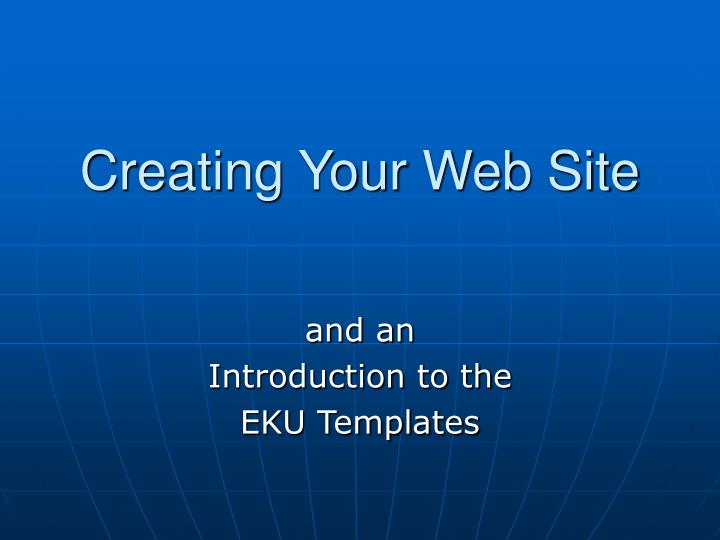 creating your web site n.