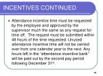incentives continued25
