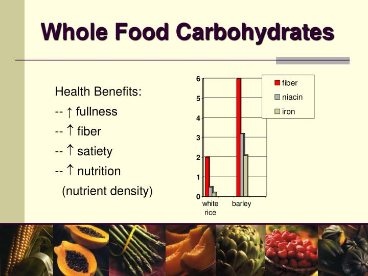 Whole Food Carbohydrates