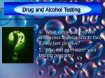 drug and alcohol testing22