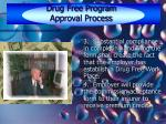 drug free program approval process24