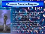 employee education program