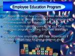 employee education program17