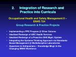 2 integration of research and practice into curricula12