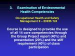 3 examination of environmental health competencies14