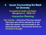 4 issues surrounding the need for diversity