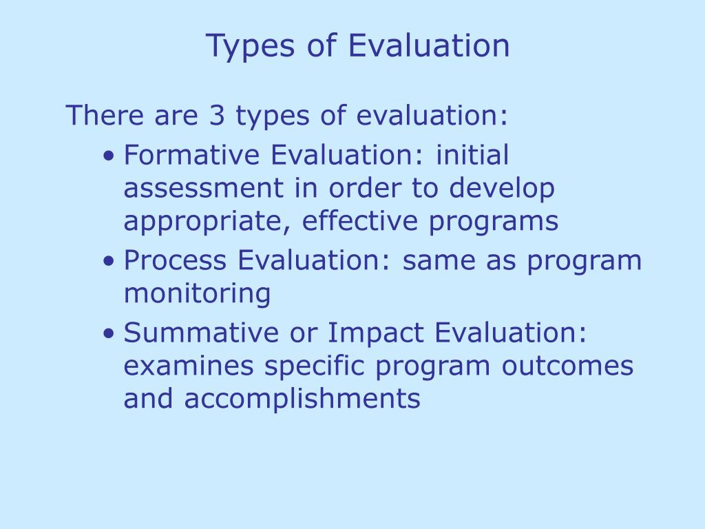 Ppt Types Of Evaluation Powerpoint Presentation Free Download Id 1386573 Module one | background to language teaching. ppt types of evaluation powerpoint