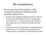 np completeness1