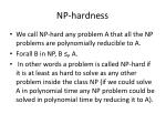 np hardness