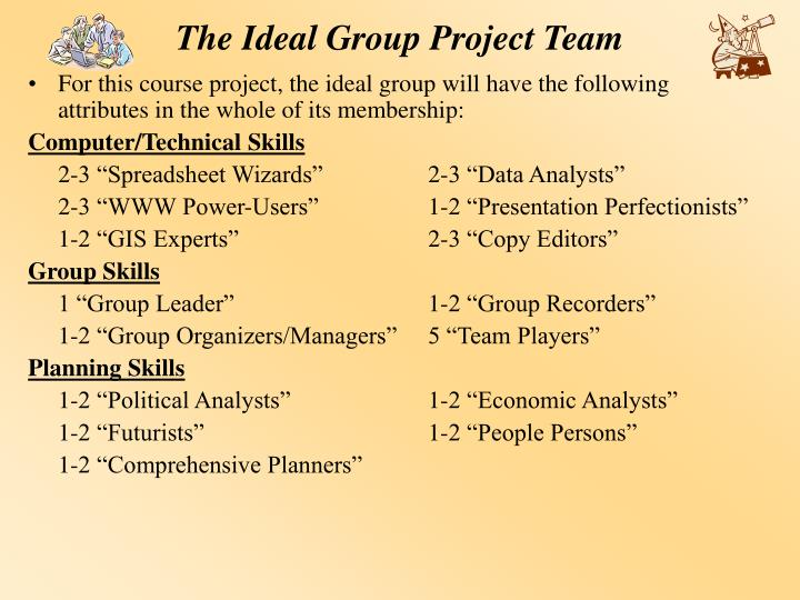 The Ideal Group Project Team