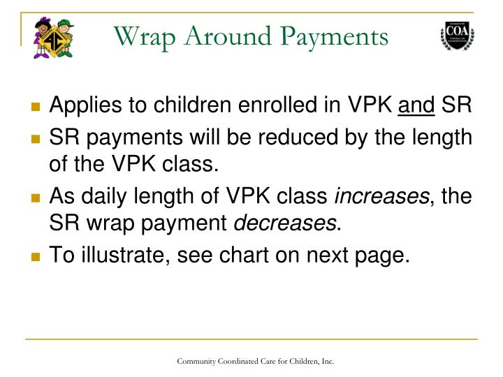 Wrap Around Payments