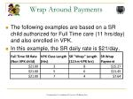 wrap around payments1