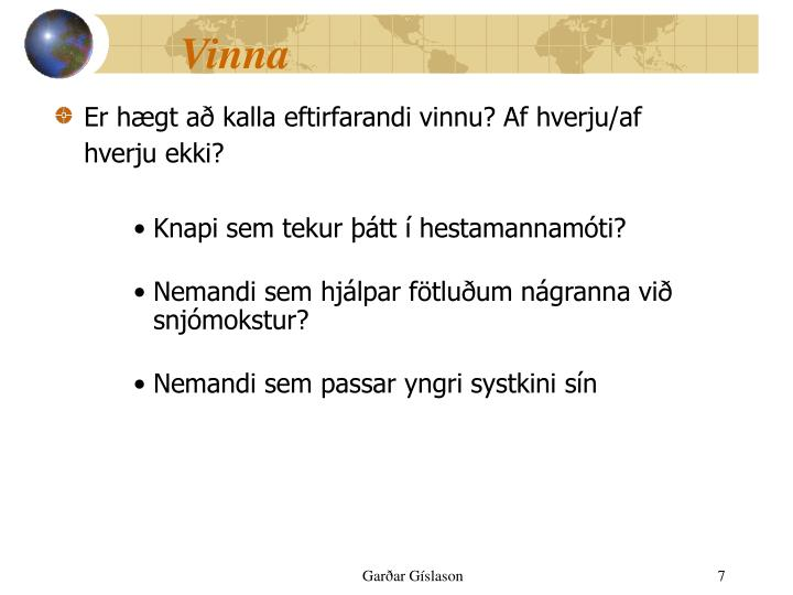 Vinna