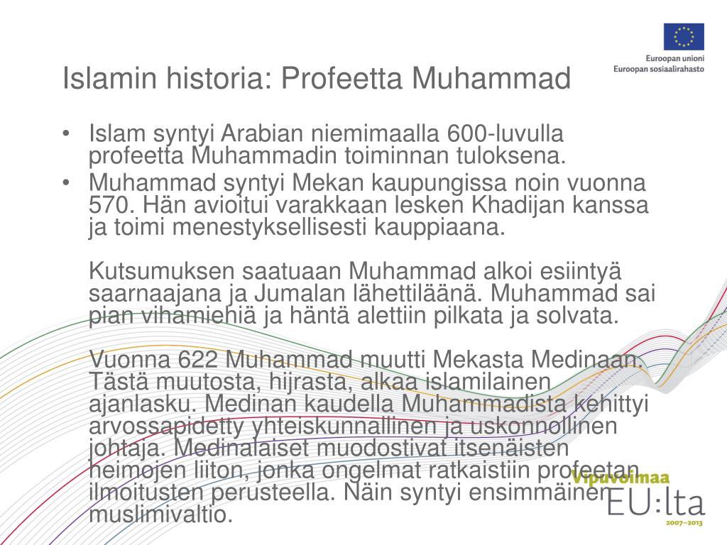 Mitä tekemistä islamilla on islamin kanssa?