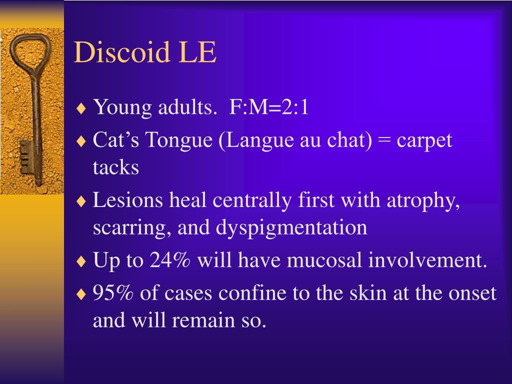 Discoid LE