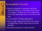 eosinophilic fasciitis