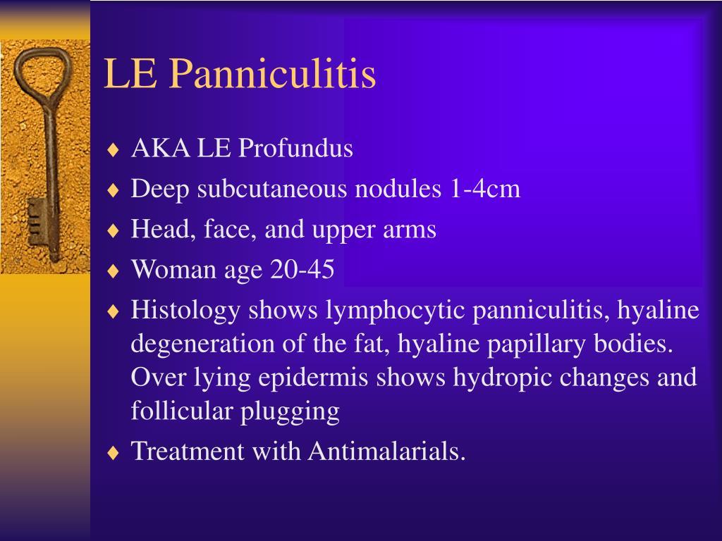 LE Panniculitis