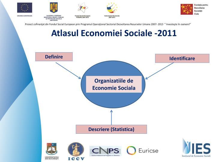 Atlasul economiei sociale 2011