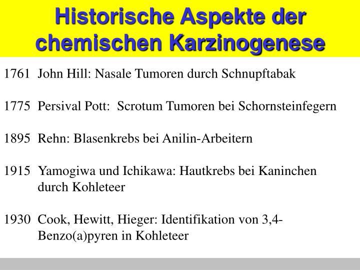 Historische Aspekte der
