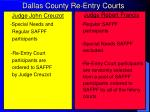 dallas county re entry courts