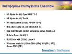 intersystems ensemble4