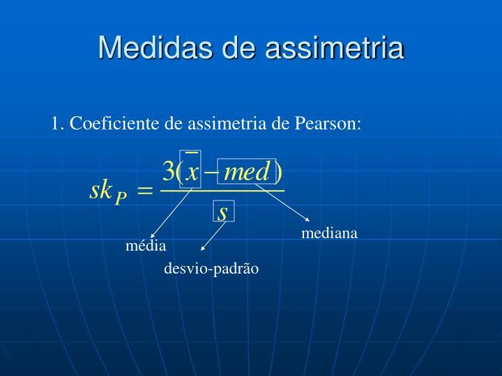 Medidas de assimetria
