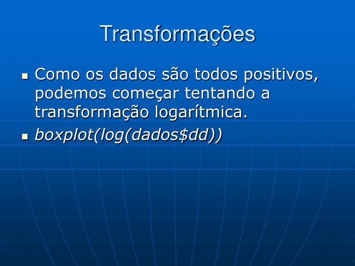 Transformações