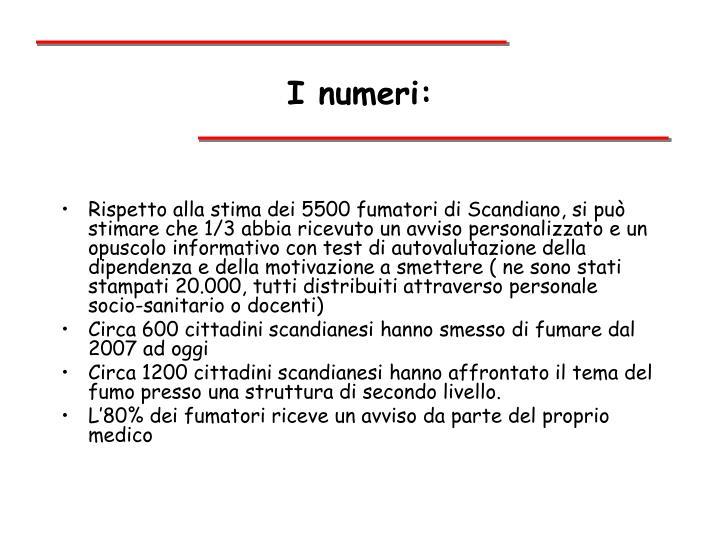 I numeri: