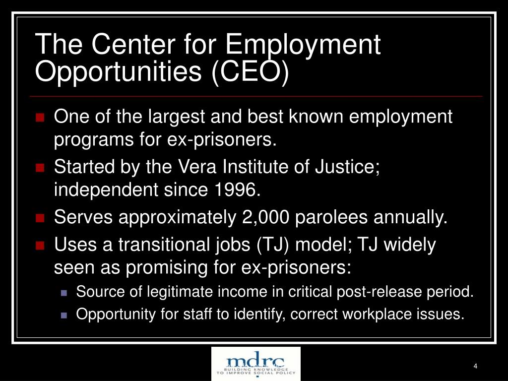 The Center for Employment Opportunities (CEO)
