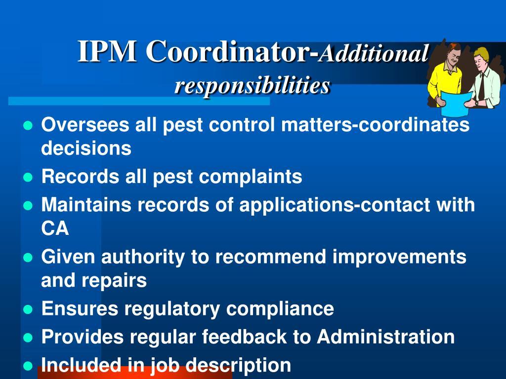 IPM Coordinator-